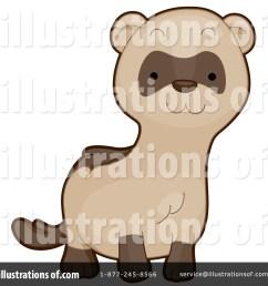 royalty free rf ferret clipart illustration by bnp design studio stock sample [ 1024 x 1024 Pixel ]