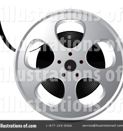 royalty free rf film reel clipart illustration by lal perera stock sample [ 1024 x 1024 Pixel ]