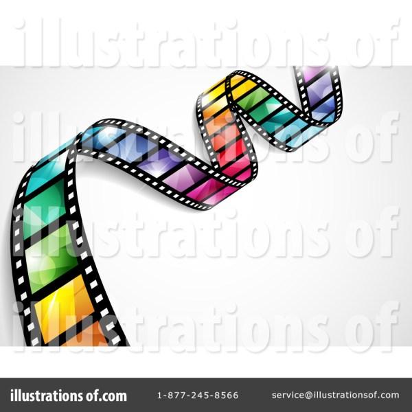 Film Strip Clipart #1092089 - Illustration Ta