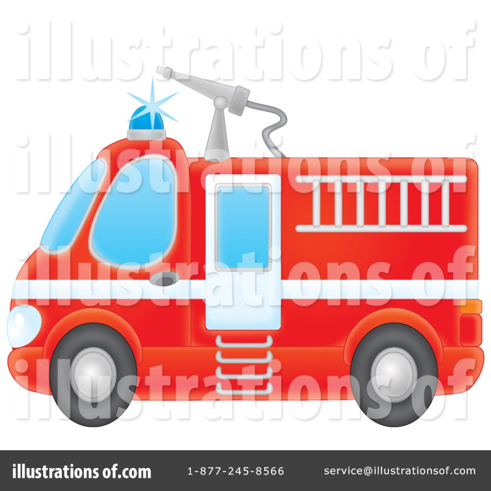 medium resolution of royalty free rf fire truck clipart illustration by alex bannykh stock sample