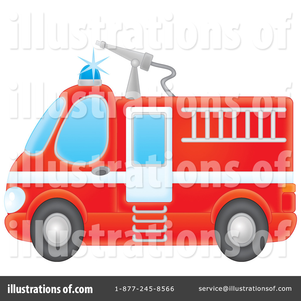 hight resolution of royalty free rf fire truck clipart illustration by alex bannykh stock sample