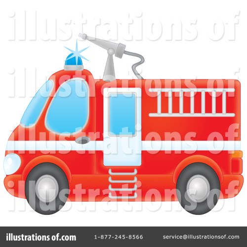 small resolution of royalty free rf fire truck clipart illustration by alex bannykh stock sample