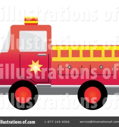 royalty free rf fire truck clipart illustration by pams clipart stock sample [ 1024 x 1024 Pixel ]