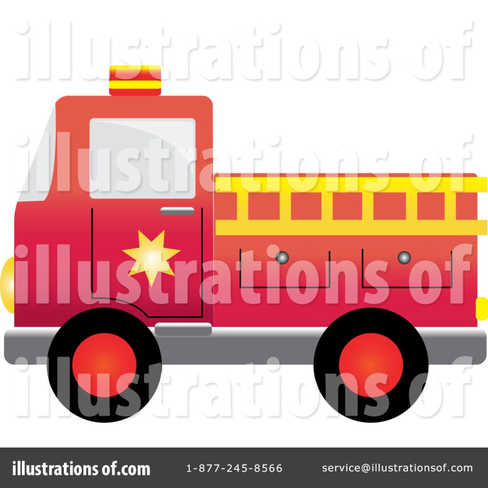 medium resolution of royalty free rf fire truck clipart illustration by pams clipart stock sample