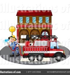 fire station clipart [ 1024 x 1024 Pixel ]