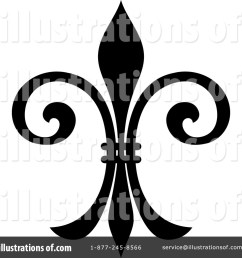 royalty free rf fleur de lis clipart illustration 1235136 by vector tradition sm [ 1024 x 1024 Pixel ]
