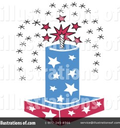 royalty free rf fourth of july clipart illustration 14441 by andy nortnik [ 1024 x 1024 Pixel ]