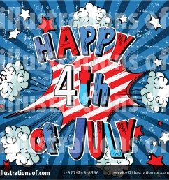 royalty free rf fourth of july clipart illustration by pushkin stock sample [ 1024 x 1024 Pixel ]