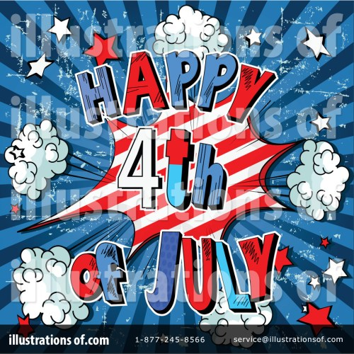 small resolution of royalty free rf fourth of july clipart illustration by pushkin stock sample