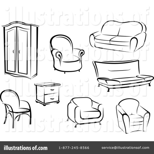 small resolution of royalty free rf furniture clipart illustration by vector tradition sm stock sample