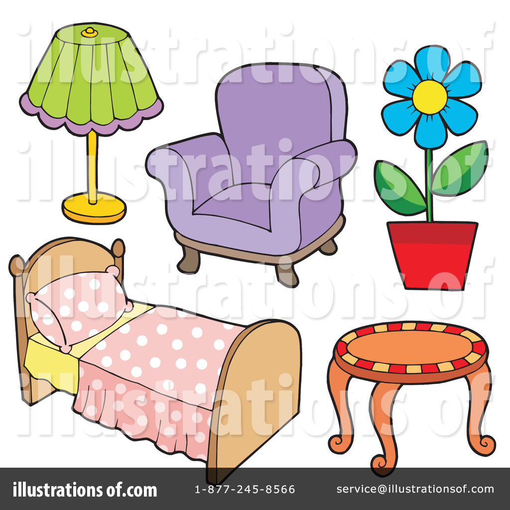 hight resolution of royalty free rf furniture clipart illustration 213543 by visekart