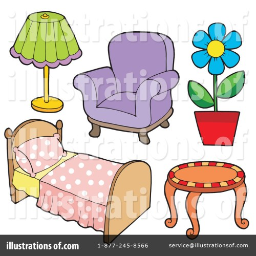 small resolution of royalty free rf furniture clipart illustration 213543 by visekart