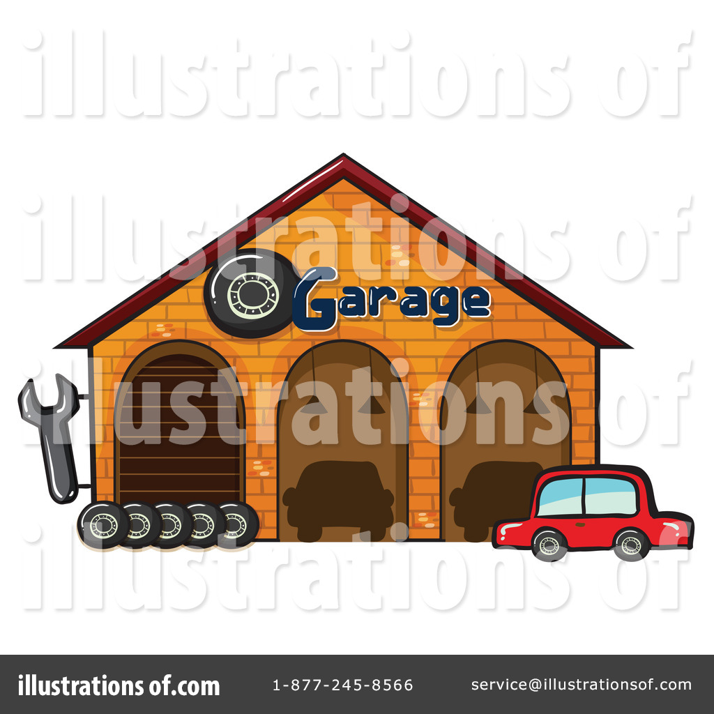 Garage Clipart 1151170 Illustration By Graphics Rf