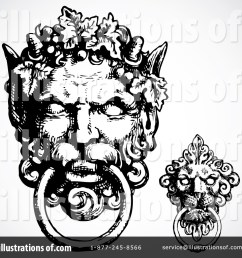 royalty free rf gargoyle clipart illustration 84748 by bestvector [ 1024 x 1024 Pixel ]