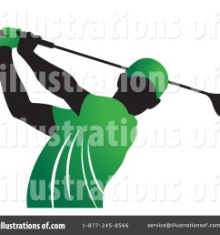 royalty free rf golfing clipart illustration 1408468 by lal perera [ 1024 x 1024 Pixel ]