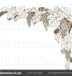 royalty free rf grape vine clipart illustration 1209702 by atstockillustration [ 1024 x 1024 Pixel ]
