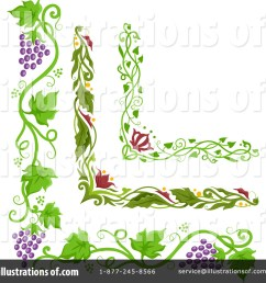 royalty free rf grapevine clipart illustration by bnp design studio stock sample [ 1024 x 1024 Pixel ]