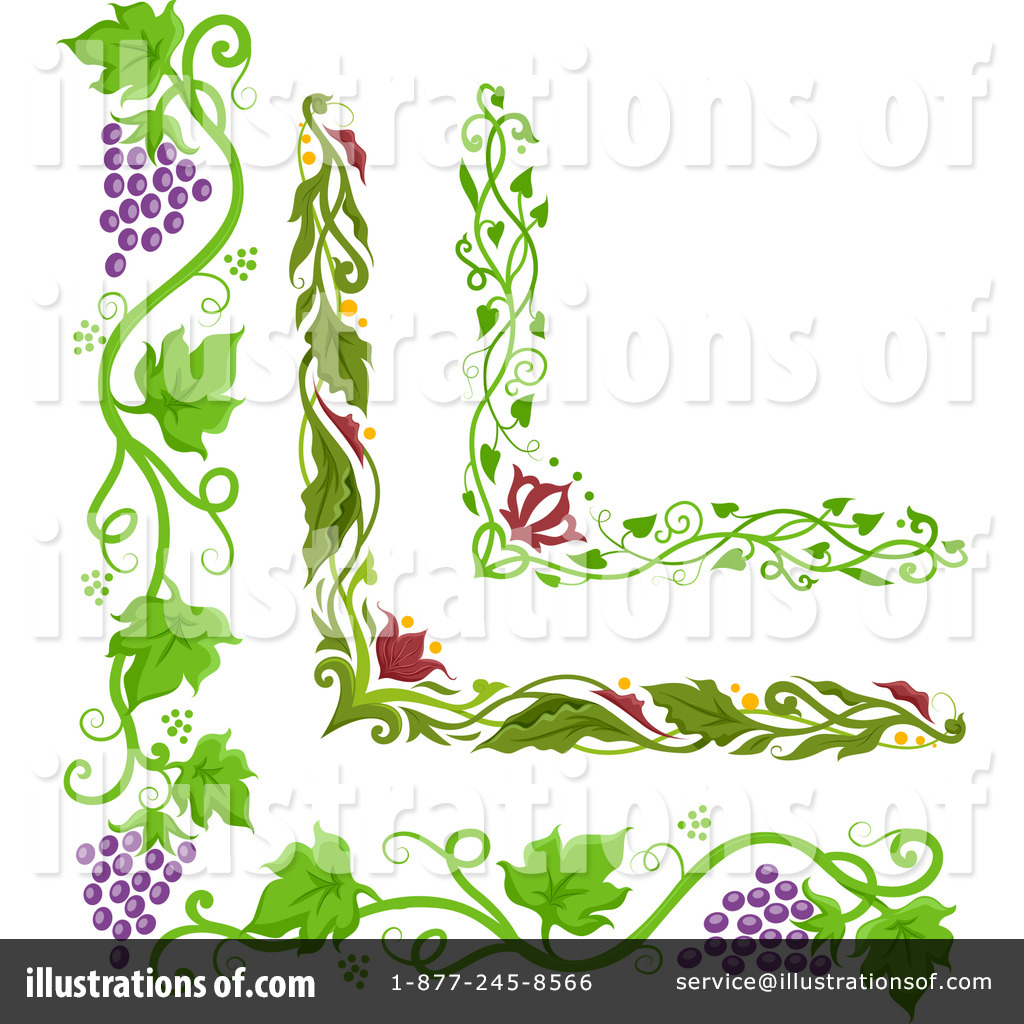 hight resolution of royalty free rf grapevine clipart illustration by bnp design studio stock sample