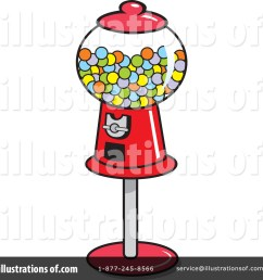 royalty free rf gumball machine clipart illustration by johnny sajem stock sample [ 1024 x 1024 Pixel ]