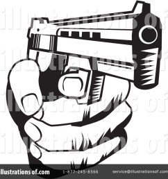 royalty free rf gun clipart illustration 225847 by david rey [ 1024 x 1024 Pixel ]