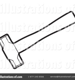 royalty free rf hammer clipart illustration 1257665 by lal perera [ 1024 x 1024 Pixel ]
