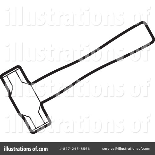 small resolution of royalty free rf hammer clipart illustration 1257665 by lal perera