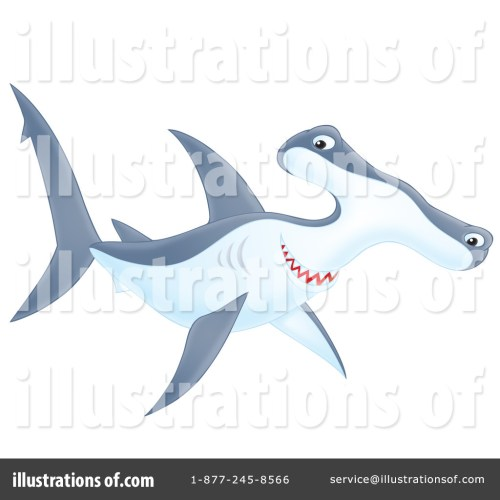 small resolution of royalty free rf hammerhead shark clipart illustration by alex bannykh stock sample