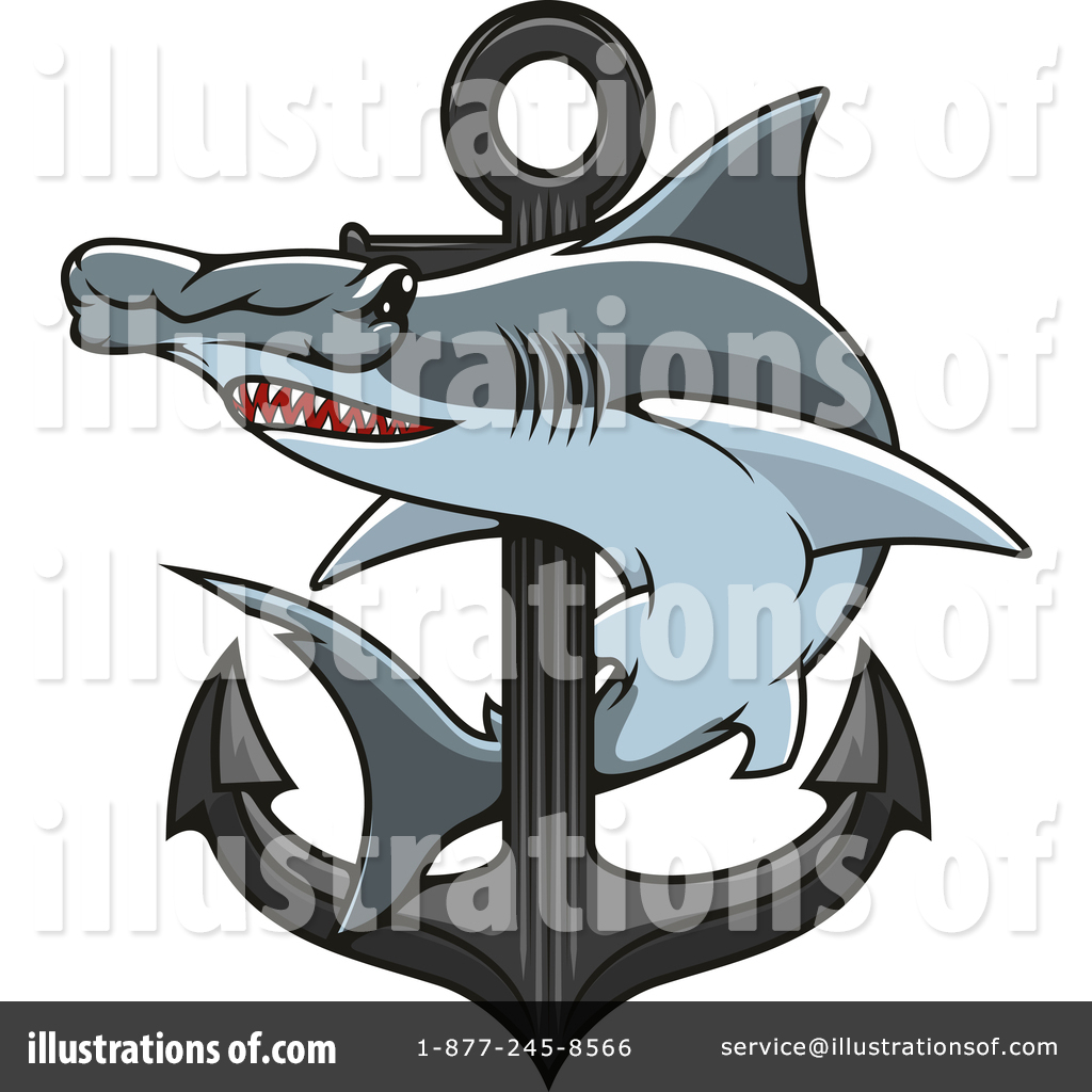 hight resolution of royalty free rf hammerhead shark clipart illustration 1421197 by vector tradition sm