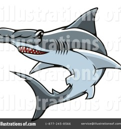 royalty free rf hammerhead shark clipart illustration 1443526 by vector tradition sm [ 1024 x 1024 Pixel ]