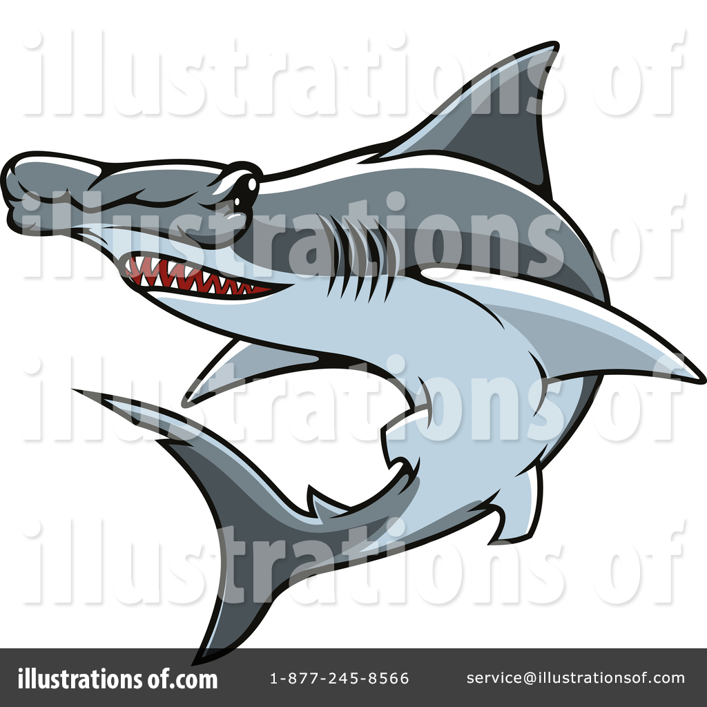 hight resolution of royalty free rf hammerhead shark clipart illustration 1443526 by vector tradition sm
