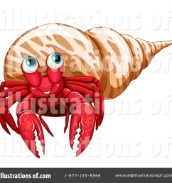 royalty free rf hermit crab clipart illustration by graphics rf stock sample [ 1024 x 1024 Pixel ]