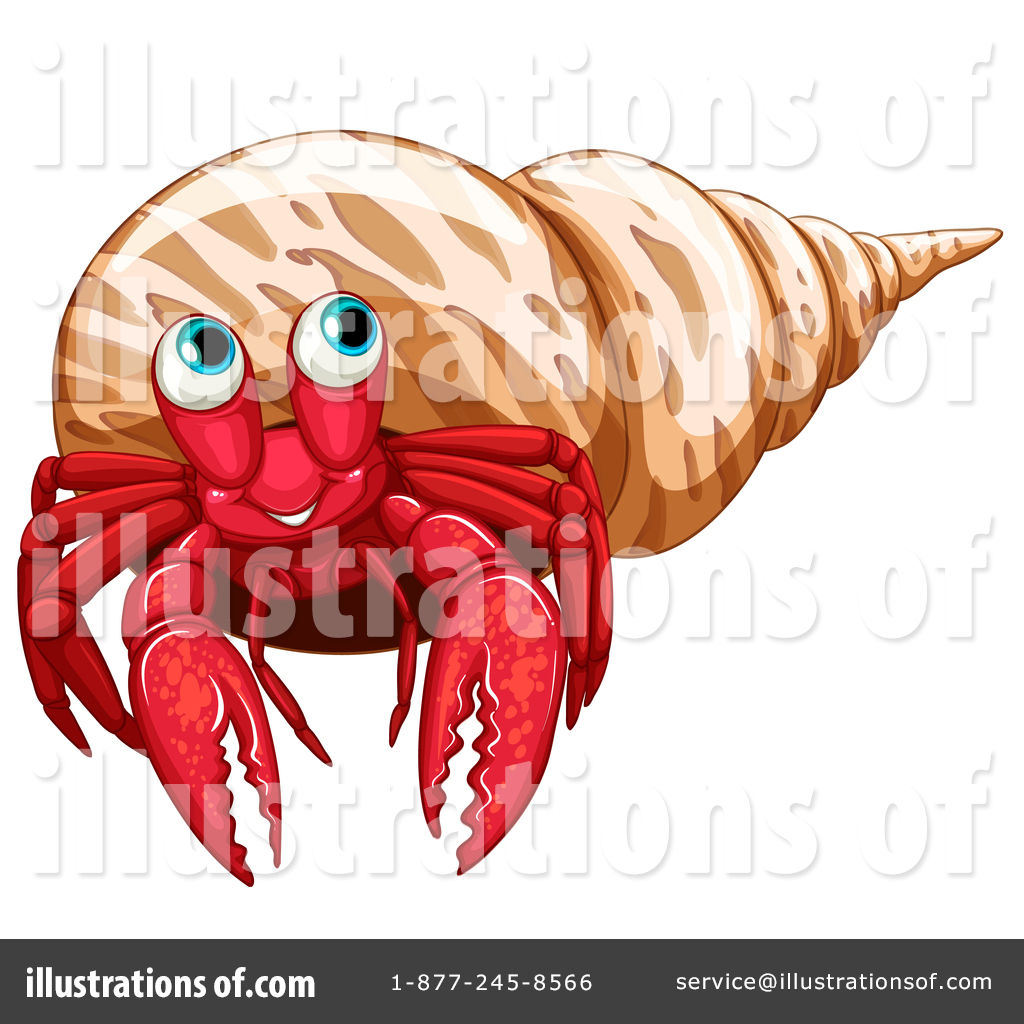 hight resolution of royalty free rf hermit crab clipart illustration by graphics rf stock sample