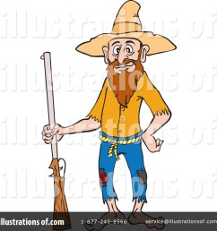 royalty free rf hillbilly clipart illustration 1215643 by lafftoon [ 1024 x 1024 Pixel ]