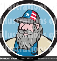 royalty free rf hillbilly clipart illustration 1396339 by patrimonio [ 1024 x 1024 Pixel ]