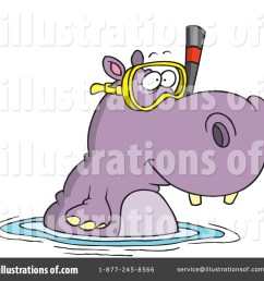 royalty free rf hippo clipart illustration 442640 by toonaday [ 1024 x 1024 Pixel ]