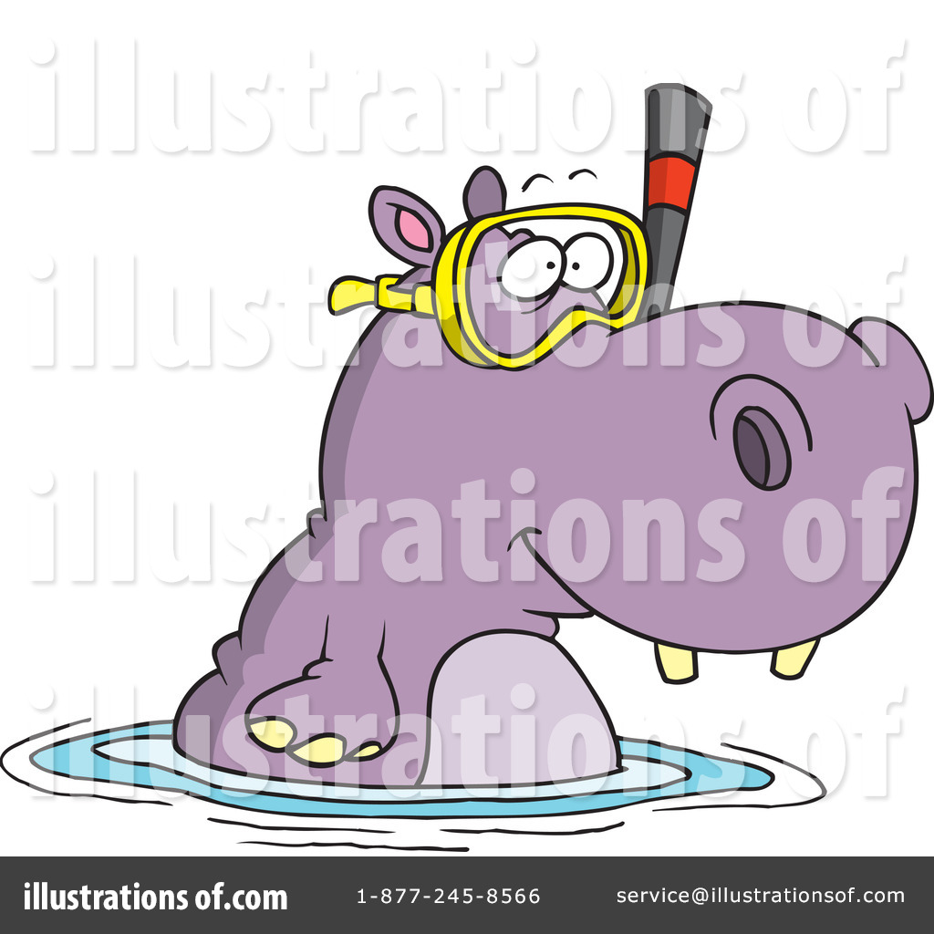 hight resolution of royalty free rf hippo clipart illustration 442640 by toonaday