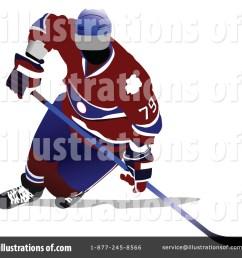 royalty free rf hockey clipart illustration 87521 by leonid [ 1024 x 1024 Pixel ]
