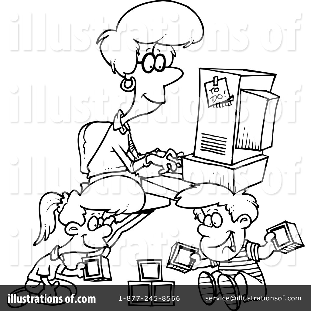 Home Office Clipart