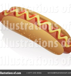 royalty free rf hot dog clipart illustration by tonis pan stock sample [ 1024 x 1024 Pixel ]