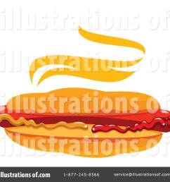 royalty free rf hot dog clipart illustration 1434711 by vector tradition sm [ 1024 x 1024 Pixel ]