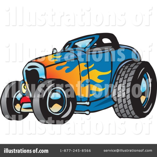 small resolution of royalty free rf hot rod clipart illustration 65660 by dennis holmes designs