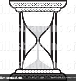 royalty free rf hourglass clipart illustration 1052856 by lal perera [ 1024 x 1024 Pixel ]