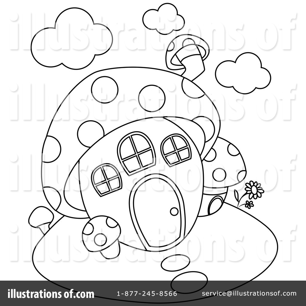 Free fungi and bacteria coloring pages