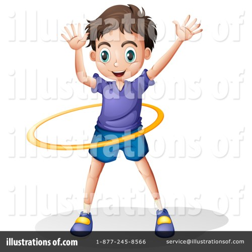 small resolution of royalty free rf hula hoop clipart illustration by graphics rf stock sample
