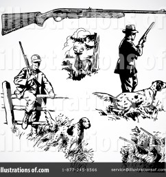 royalty free rf hunting clipart illustration 210473 by bestvector [ 1024 x 1024 Pixel ]