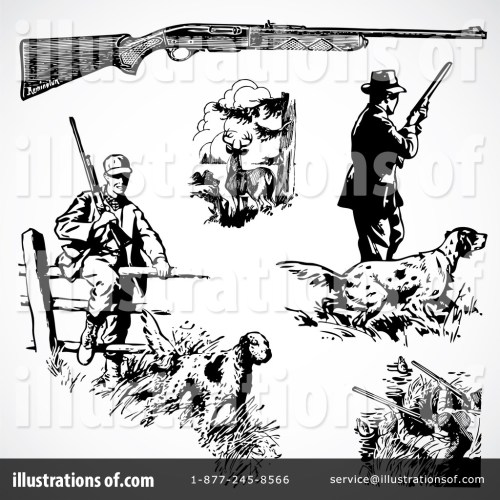 small resolution of royalty free rf hunting clipart illustration 210473 by bestvector