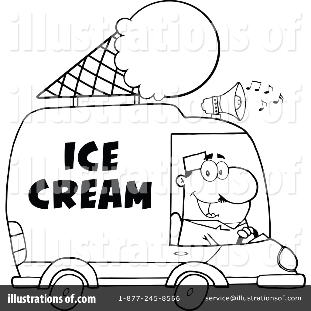 Ice Cream Truck Clipart