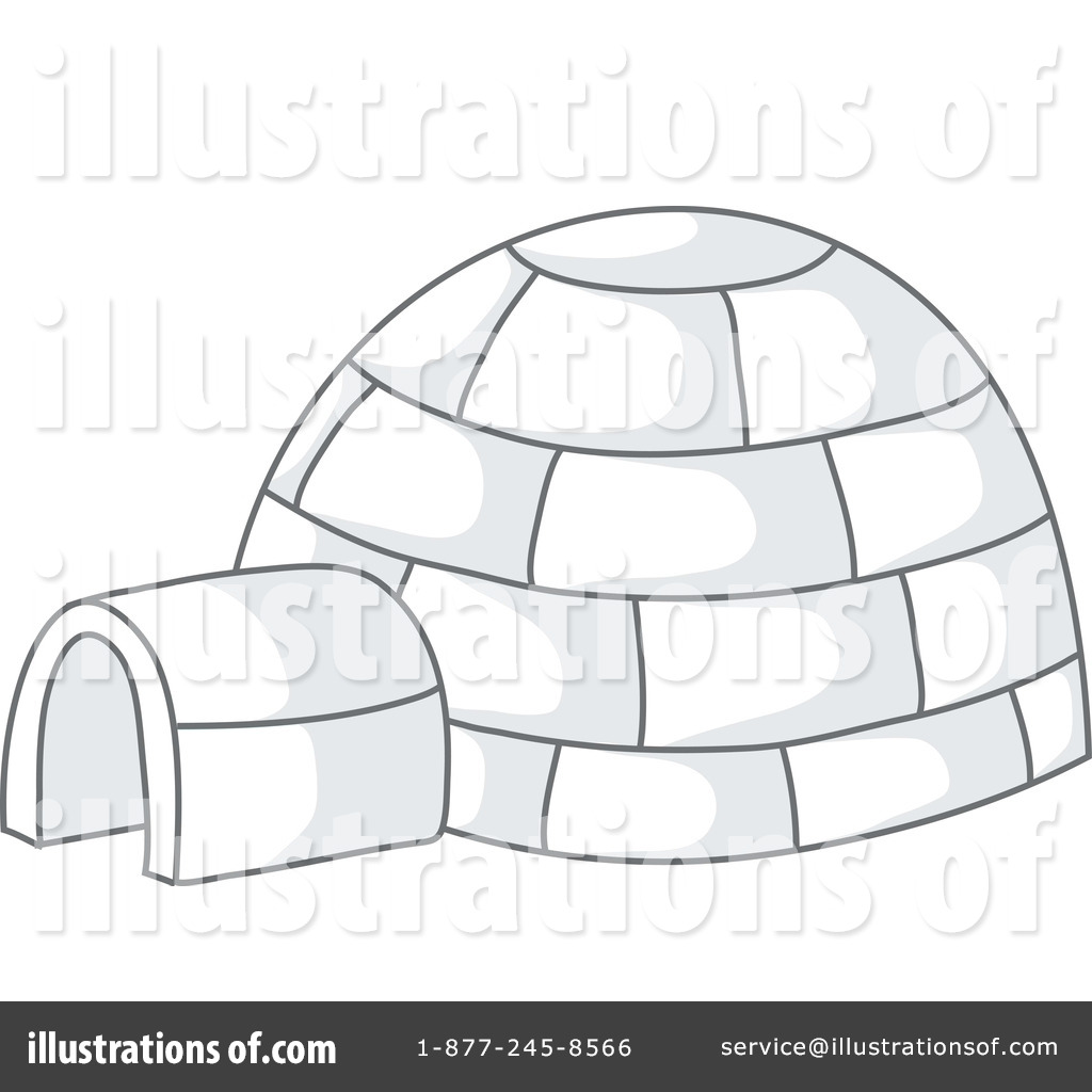 hight resolution of royalty free rf igloo clipart illustration 63056 by rosie piter