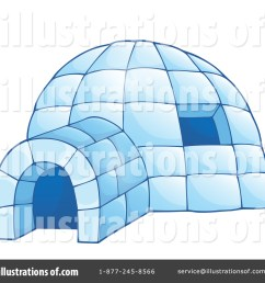 royalty free rf igloo clipart illustration 1351648 by visekart [ 1024 x 1024 Pixel ]