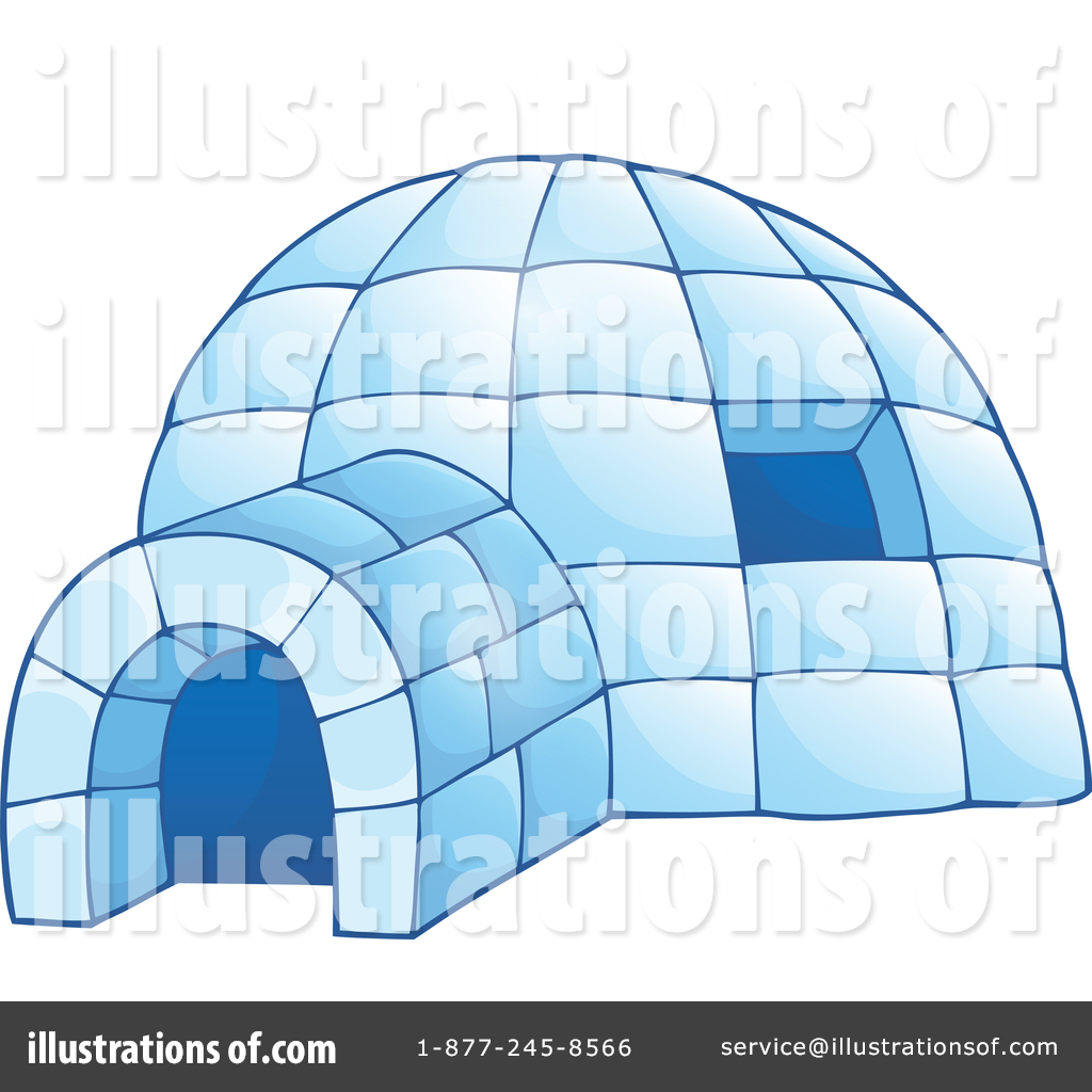 hight resolution of royalty free rf igloo clipart illustration 1351648 by visekart
